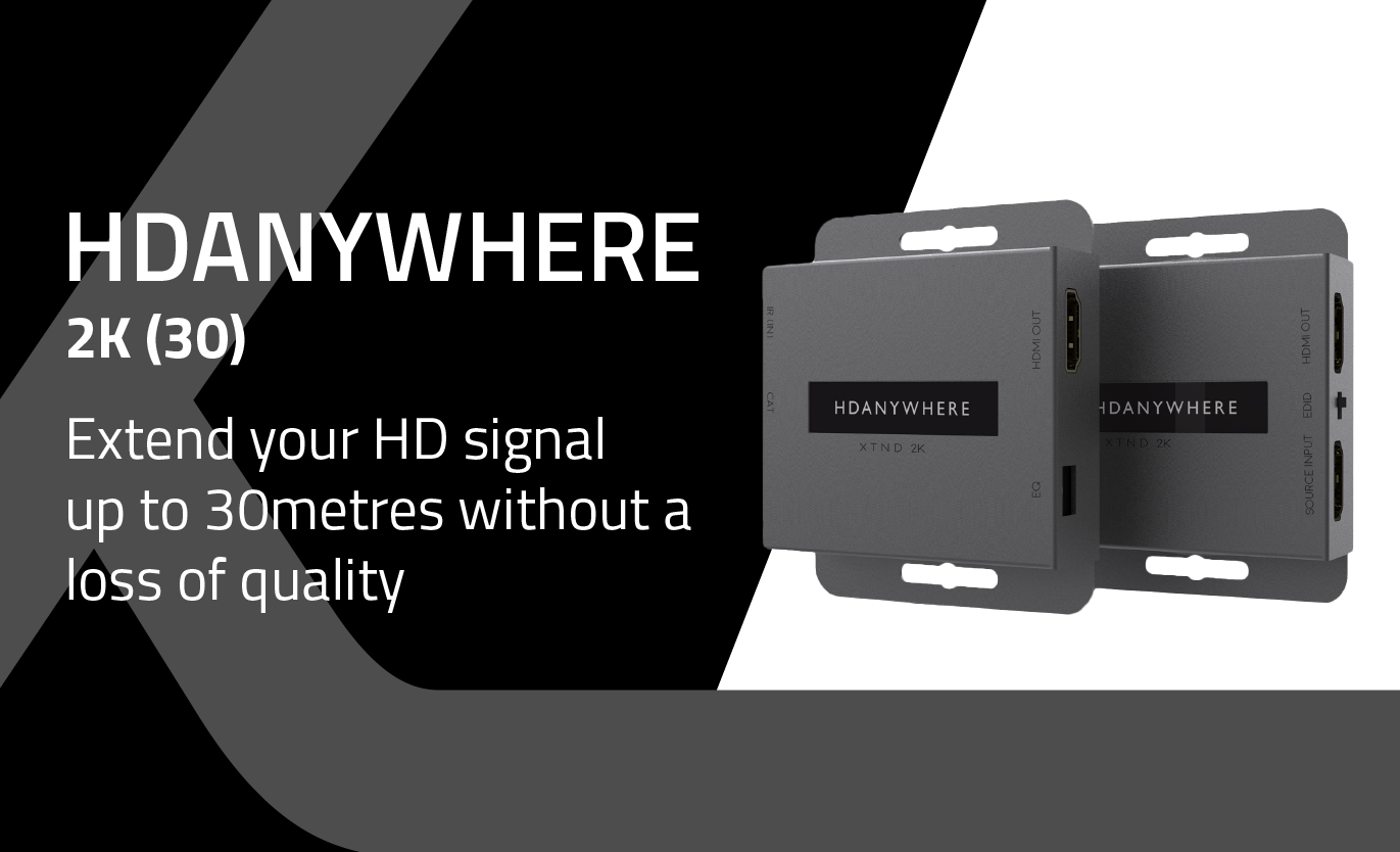 HDANYWHERE XTND HDMI Extenders