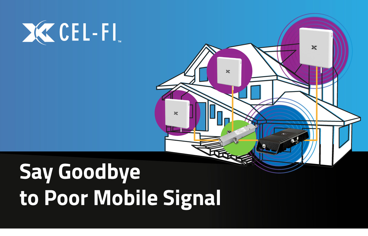 Mobile Phone signal boosting from Cel-fi