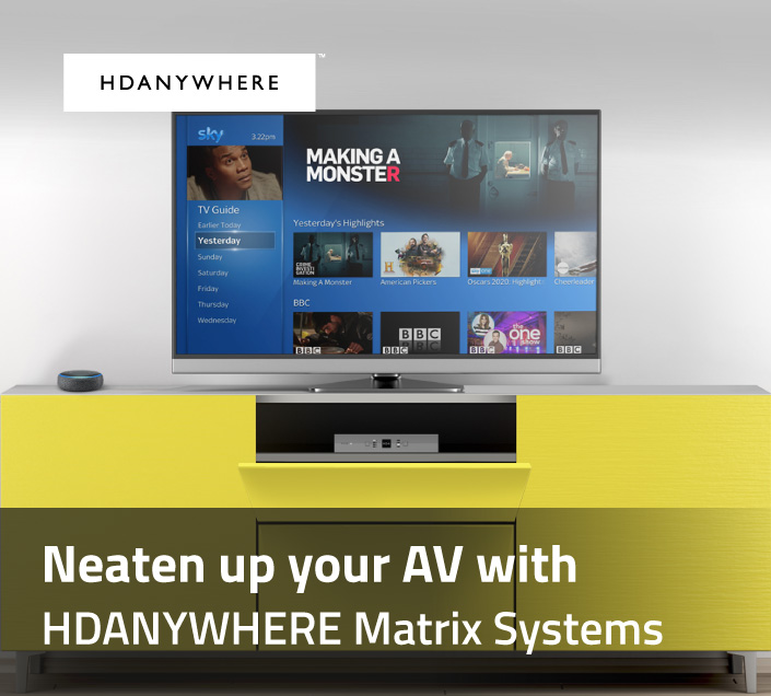 HD Distribution solutions from HDANYWHERE