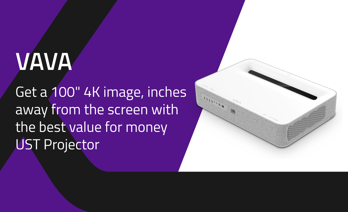 4K UST Laser Projector from VAVA