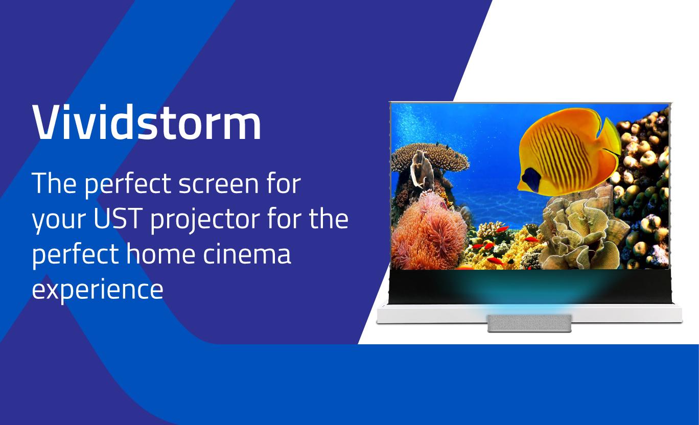 Projector Screens from Vividstorm