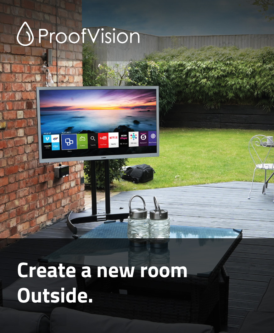 Outdoor and Waterproof TV's from ProofVision