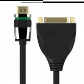 Ultimate Series - HDMI/DVI Portsaver Adapter 0.10m