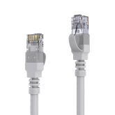 AVIT Media - CAT 6A Patch Cable. AWG 26 - grey - 1.00m