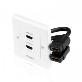 PureInstall - HDMI Wallplate 2-Port