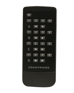 HDANYWHERE - MHUB Master Remote (4 Rooms)