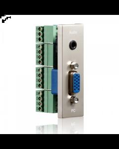 PureID Series - VGA + Audio wallplate