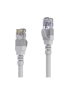 AVIT Media - CAT 6A Patch Cable. AWG 26 - grey - 15.00m