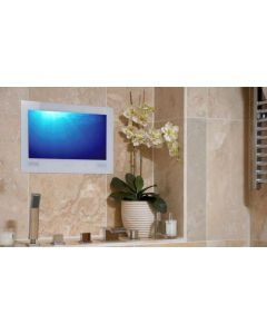 ProofVision 24inch Bathroom TV - White