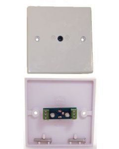 Keene 3.5mm Stereo Jack Wallplate With Quick Connect
