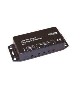 Keene IR Signal Combiner Four IR Input to One IR Output