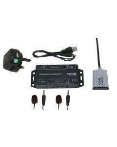 Keene IR Distribution Amplifier Kit Pro4 Including Standard Receiver