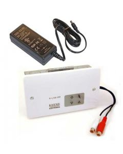 Keene 20w Wall Mount Audio Amplifier Complete Kit With Power Supply
