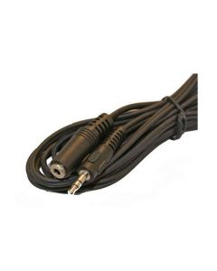 3.5mm Stereo Plug To Stereo Socket Cable 5m Extension