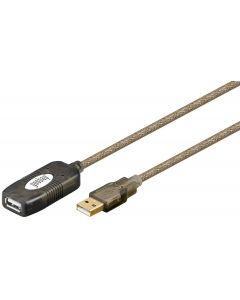 PureAffiliate - USB 2.0 active Extension, 5.00m