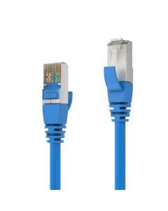 PureAffiliate - CAT 6A Patch Cable. blue - 1.00m