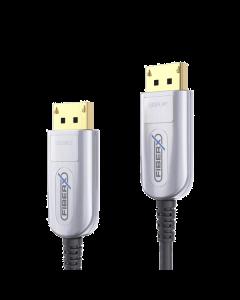FX Series - DisplayPort 4K Fiber Extender Cable - 50m
