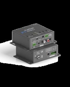 PureTools - Audio Amplifier 2x20W, 2 Line & 1 MIC Input