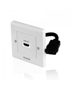 PureInstall - HDMI Wallplate 1-Port